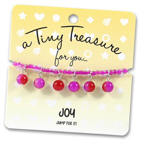 Tiny Treasures Bracelet: Joy
