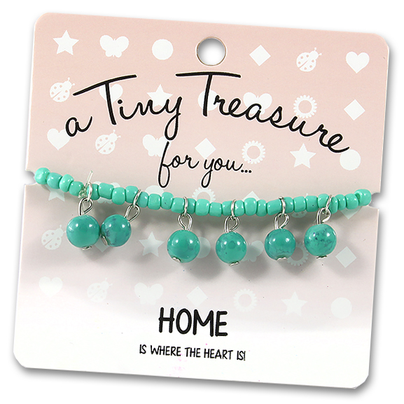 Tiny Treasures Bracelet: Home