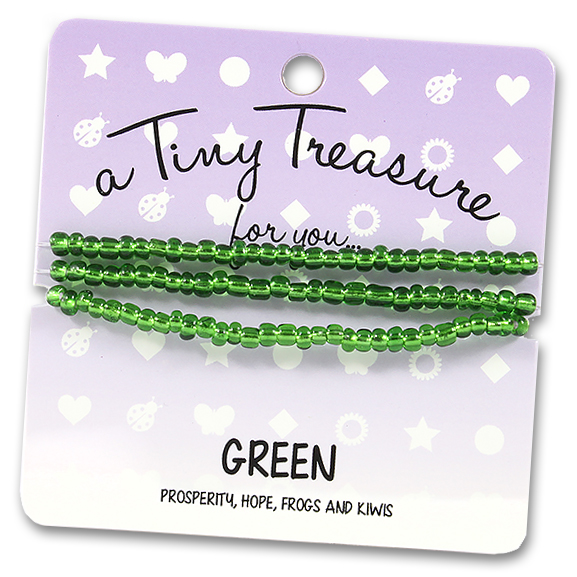 Tiny Treasures Bracelet: Green