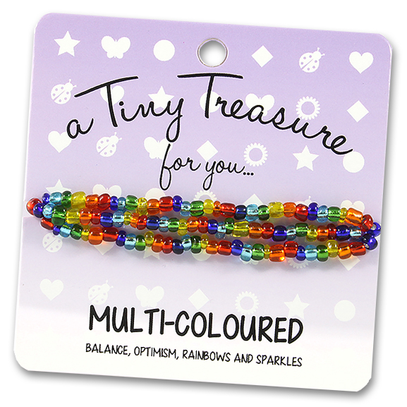 Tiny Treasures Bracelet: Multi-colour
