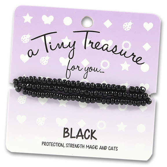 Tiny Treasures Bracelet: Black