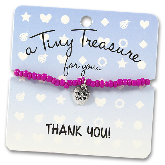 Tiny Treasures Bracelet: Thank you