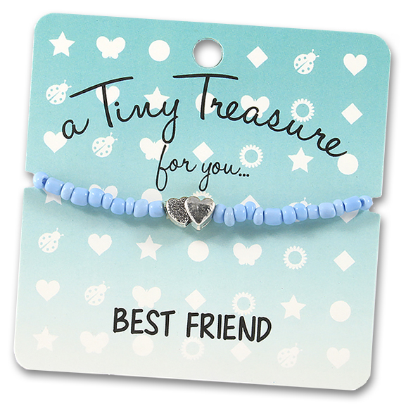 Tiny Treasures Bracelet: Best Friend