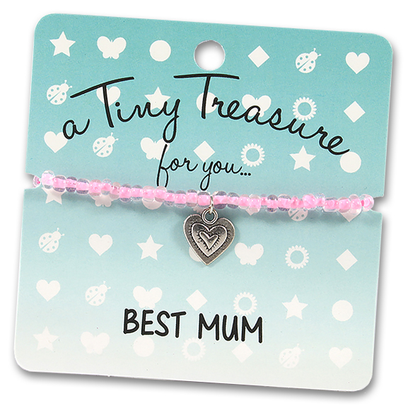 Tiny Treasures Bracelet: Best Mum