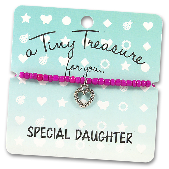 Tiny Treasures Bracelet: Special Daughter