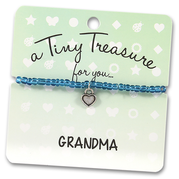 Tiny Treasures Bracelet: Grandma