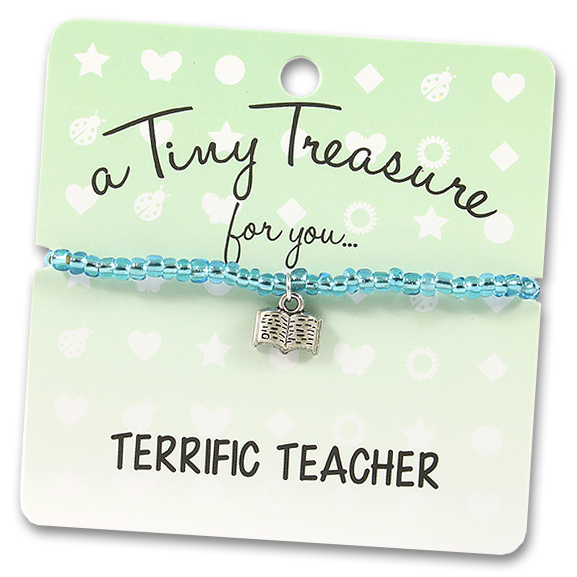 Tiny Treasures Bracelet: Terrific Teacher
