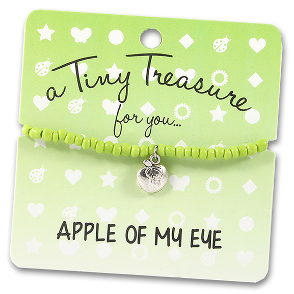 Tiny Treasures Bracelet: Apple of my Eye