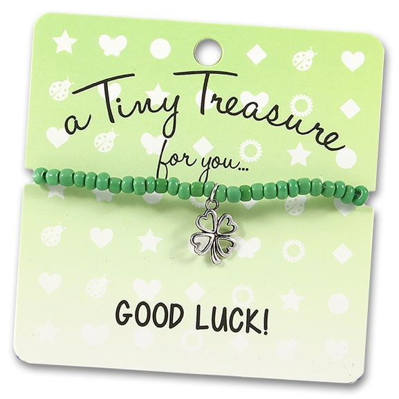 Tiny Treasures Bracelet: Good Luck