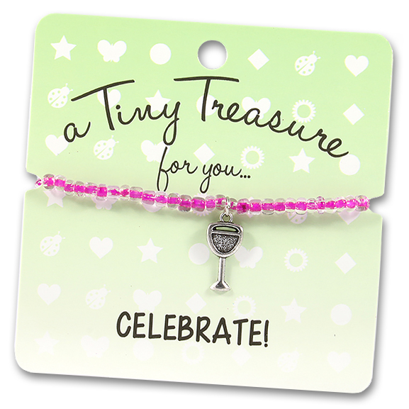 Tiny Treasures Bracelet: Celebrate