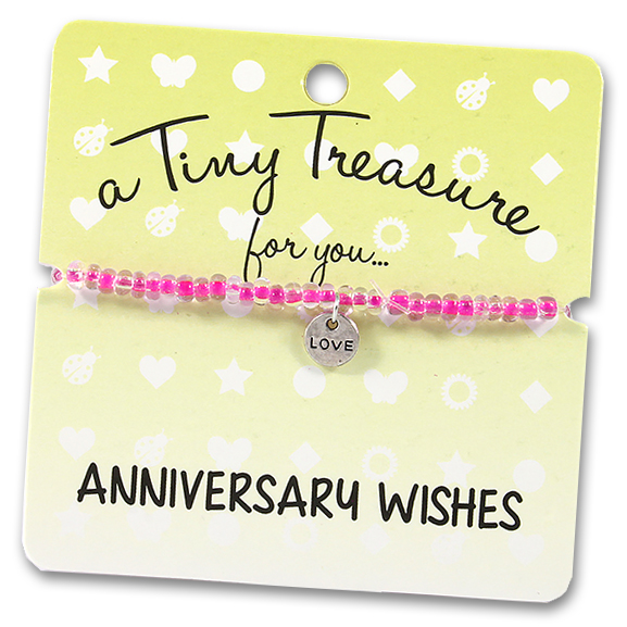 Tiny Treasures Bracelet: Anniversary Wishes