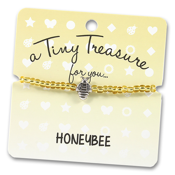 Tiny Treasures Bracelet: Honeybee