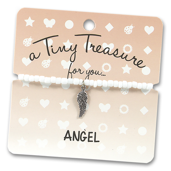 Tiny Treasures Bracelet: Angel