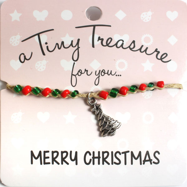 Tiny Treasures Bracelet: Merry Christmas
