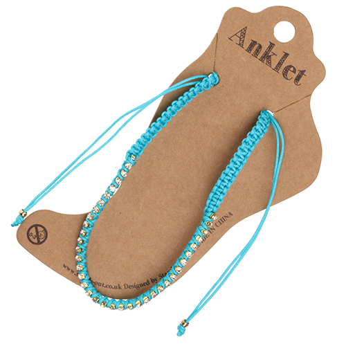 Anklet 14 - Turquoise