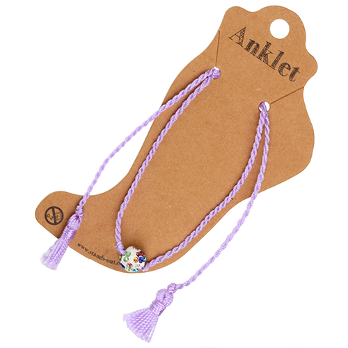 Anklet 16 - Purple