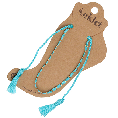 Anklet 2 - Turquoise