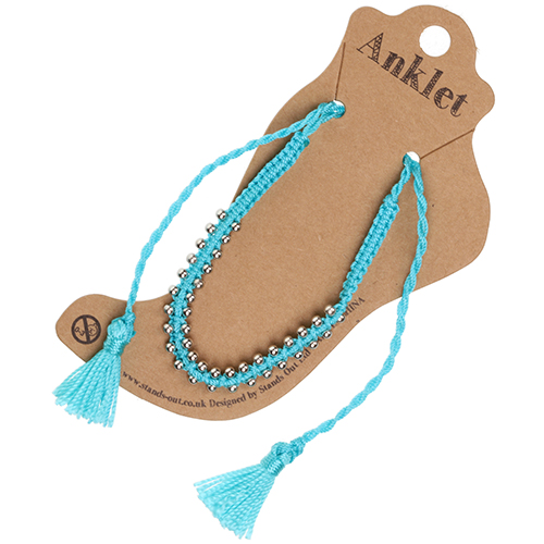 Anklet 23 - Turquoise