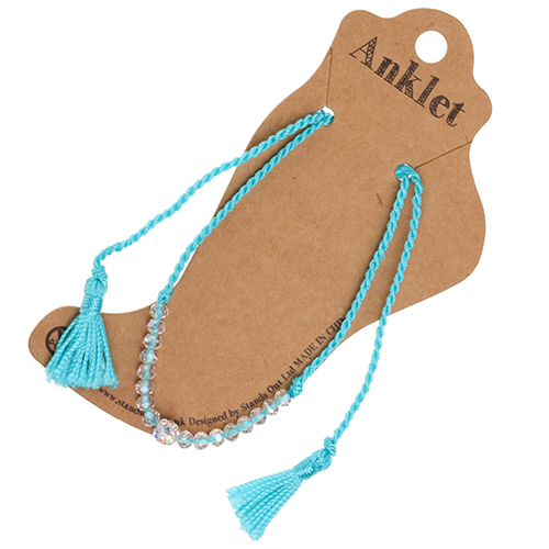 Anklet 25 - Turquoise