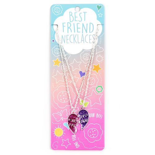 Best Friend Necklace Set: #12 Best Friend Heart