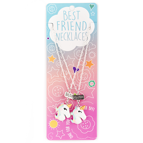Best Friend Necklace Set: #13 Unicorns