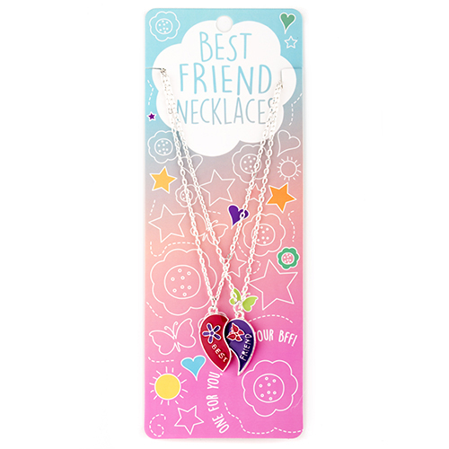 Best Friend Necklace Set: #16 Best Friend Hearts