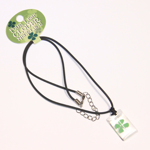 Four Leaf Clover Necklaces