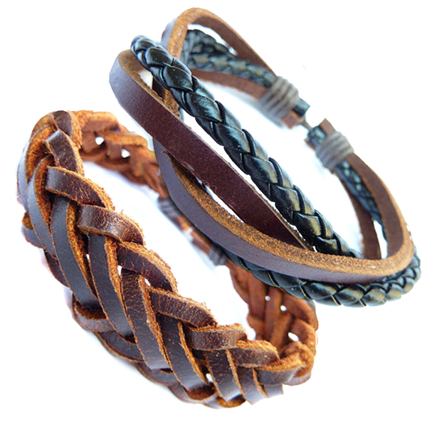 Real Leather Bracelets