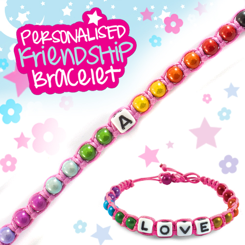 A - Personalised Friendship Bracelet