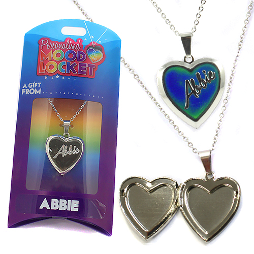 Personalised Mood Locket: Abbie