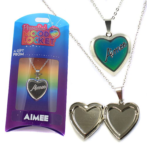 Personalised Mood Locket: Aimee