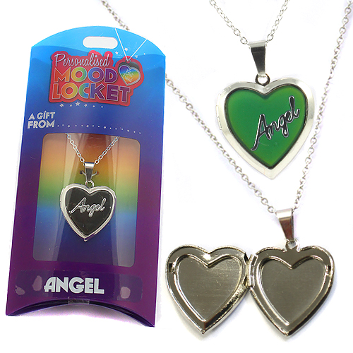 Personalised Mood Locket: Angel