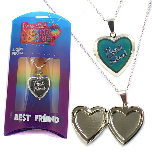Personalised Mood Locket: Best Friend