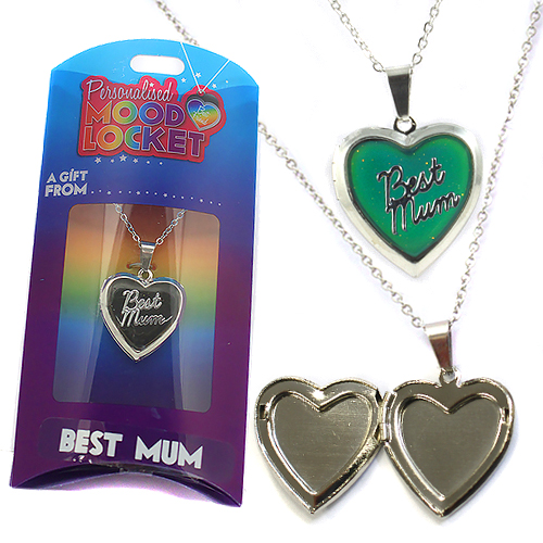 Personalised Mood Locket: Best Mum