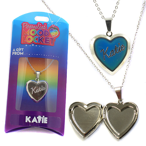 Personalised Mood Locket: Katie