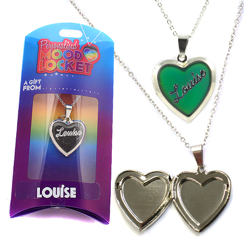 Personalised Mood Locket: Louise