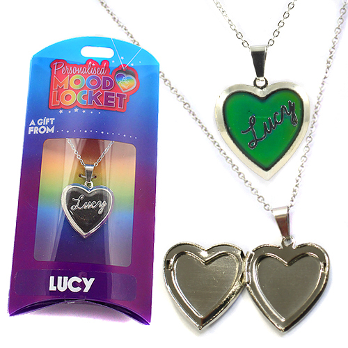 Personalised Mood Locket: Lucy