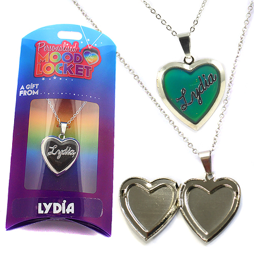 Personalised Mood Locket: Lydia