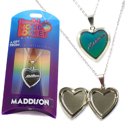 Personalised Mood Locket: Maddison