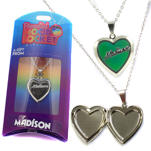 Personalised Mood Locket: Madison