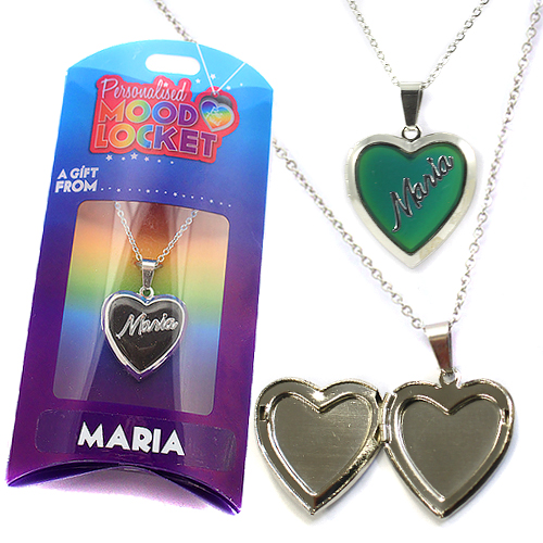 Personalised Mood Locket: Maria