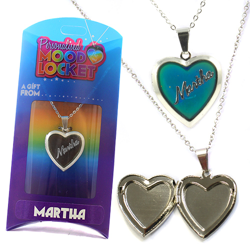 Personalised Mood Locket: Martha