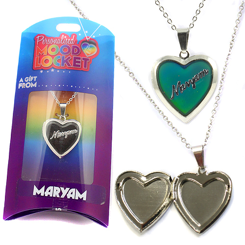 Personalised Mood Locket: Maryam