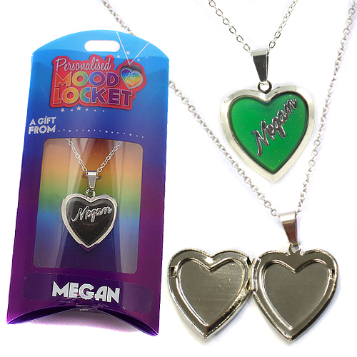 Personalised Mood Locket: Megan