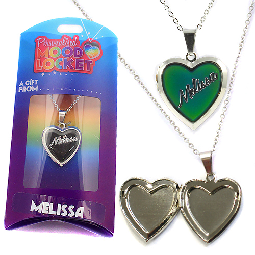 Personalised Mood Locket: Melissa
