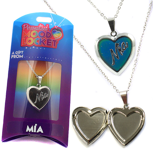 Personalised Mood Locket: Mia