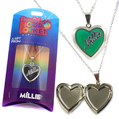 Personalised Mood Locket: Millie