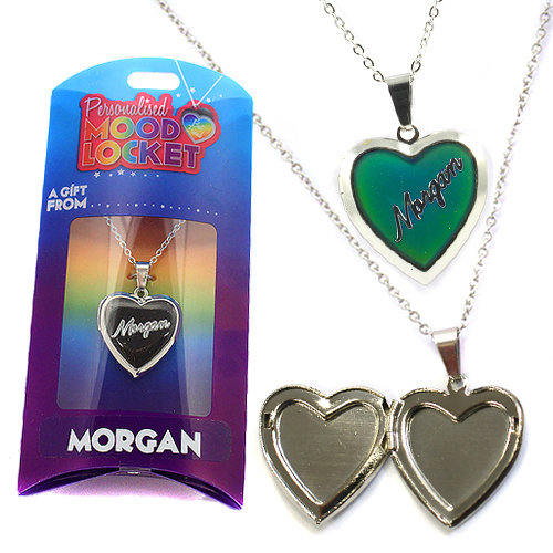 Personalised Mood Locket: Morgan
