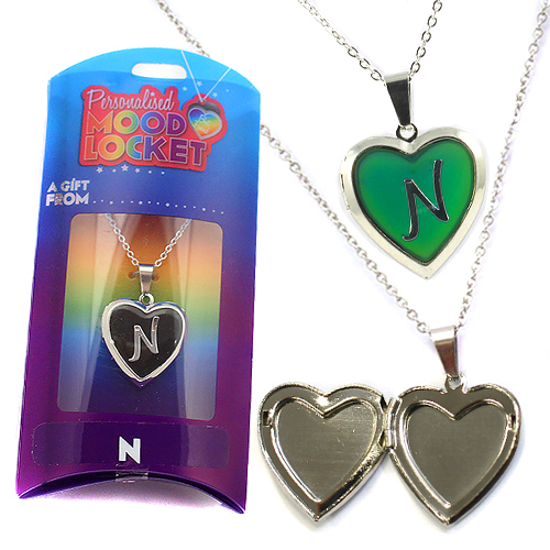 Personalised Mood Locket: N