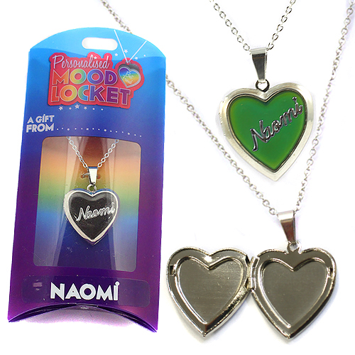 Personalised Mood Locket: Naomi
